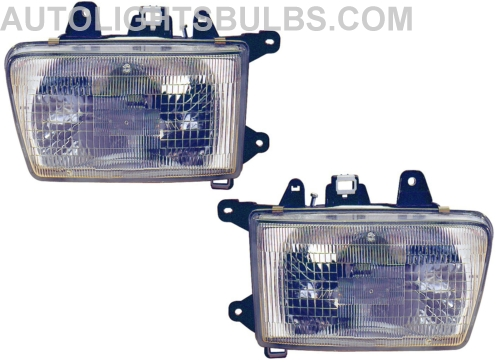 1990 1995 Toyota 4runner Headlight Embly Pair Both Driver And Penger Sides