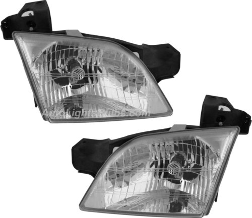 1997 2005 Chevy Venture Headlight Embly Pair Both Driver And Penger Sides