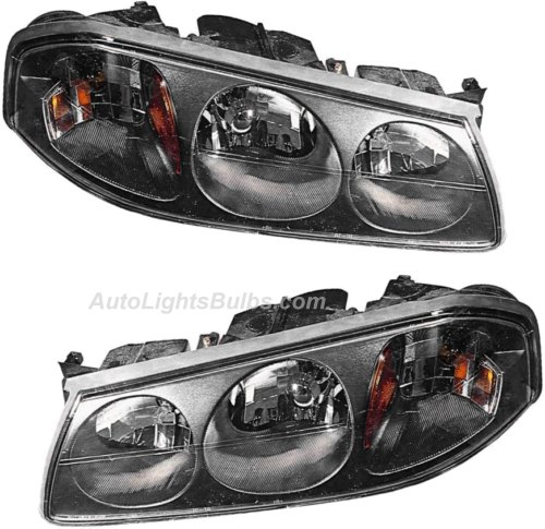 2000 2004 Chevy Impala Headlight Embly Pair Both Driver And Penger Sides