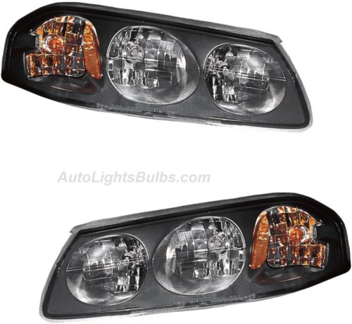 2004 2005 Chevy Impala Headlight Embly Pair Both Driver And Penger Sides