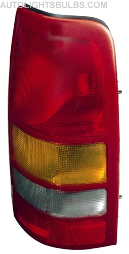Passenger Side - Go-Parts Fleetside 15198460 GM2801173 Replacement 2000 2001 Right for 1999-2002 Chevrolet Silverado 2500 Rear Tail Light Lamp Assembly // Lens // Cover