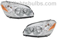 2006 2009 buick lucerne cx headlight assembly 2007 2008 1. Black Bedroom Furniture Sets. Home Design Ideas