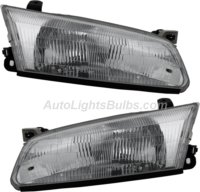 1997 1999 Toyota Camry Headlight Embly Pair Both Driver And Penger Sides