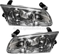 2000 2001 Toyota Camry Headlight Embly Pair Both Driver And Penger Sides