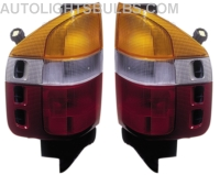 Isuzu Rodeo Tail Light