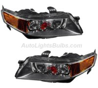 Acura TSX Headlight Pair HID Type Wo Ballast - 2006 acura tsx headlights