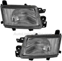 1999 2000 Subaru Forester Headlight Embly Pair Both Driver And Penger Sides