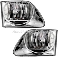 2001 2004 ford f150 lightning headlight assembly 2002 2003 1 pair. Black Bedroom Furniture Sets. Home Design Ideas