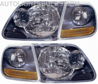 1996 2003 Ford F150 Headlight Assembly 1997 1998 1999 2000 2001 2002