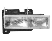 GMC Sierra Pickup full size Headlight