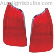 2000 2005 Cadillac Deville Tail Light Embly Pair Both Driver And Penger Sides