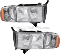 Dodge Ram Pickup Headlight