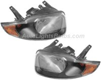 2003 2005 Chevy Cavalier Headlight Embly Pair Both Driver And Penger Sides