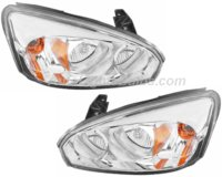 2004 2007 Chevy Malibu Ma Headlight Embly Pair Both Driver And Penger Sides