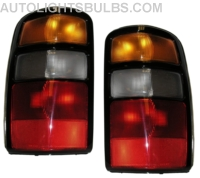 2002 2003 chevy tahoe tail light assembly 02 03 1 pair. Black Bedroom Furniture Sets. Home Design Ideas
