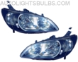 2004-2005 Honda Civic Headlight